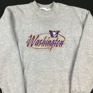 VTG University of Washington crewneck sweatshirt